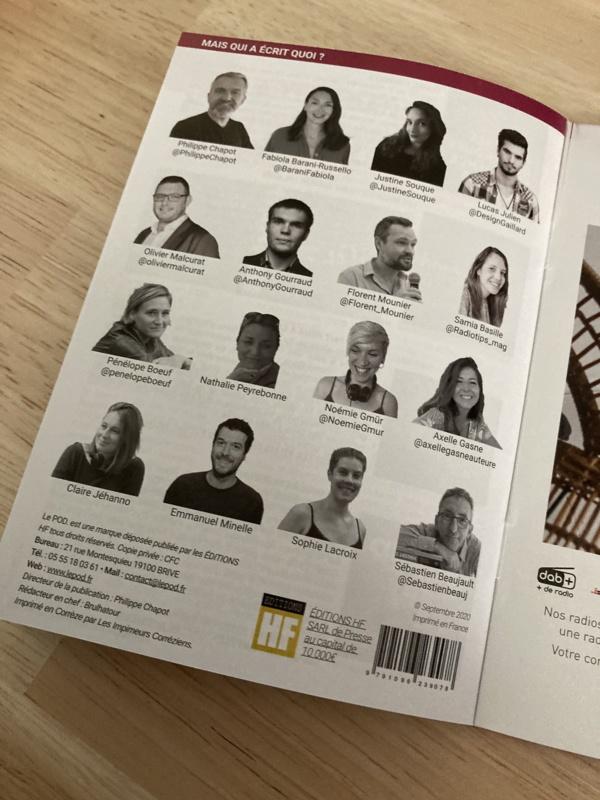L'équipe du magazine LePOD.
