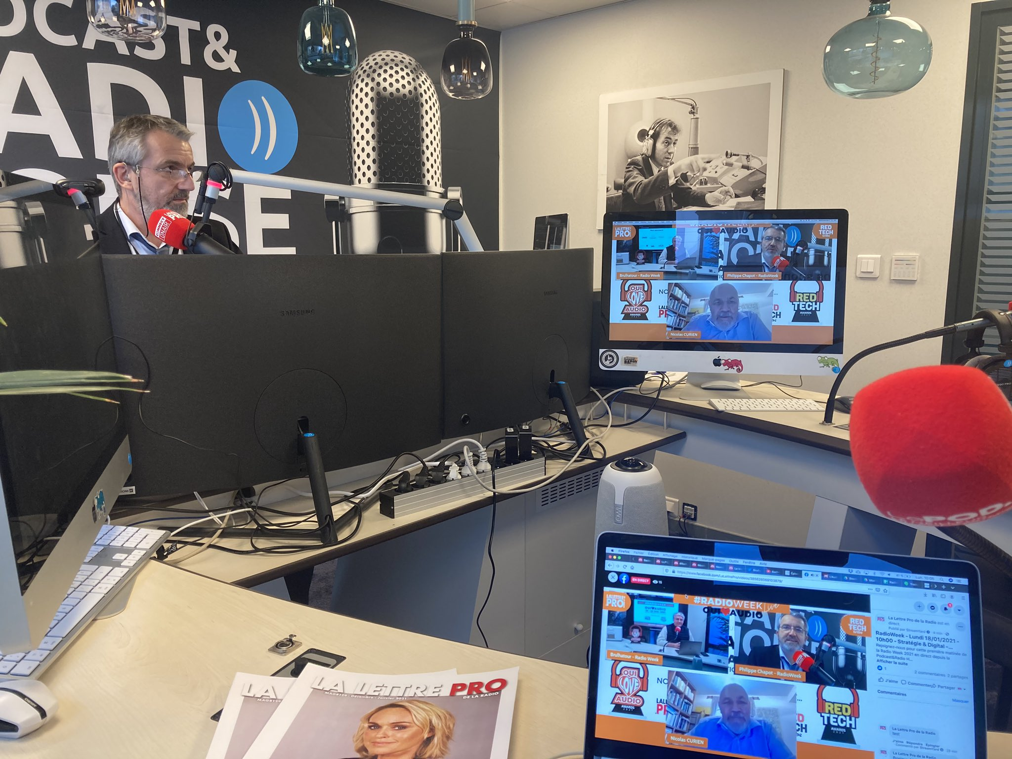 La #RadioWeek débute ce lundi matin jusqu'à vendredi. Un événement exclusivement en distanciel proposé par les Éditions HF.