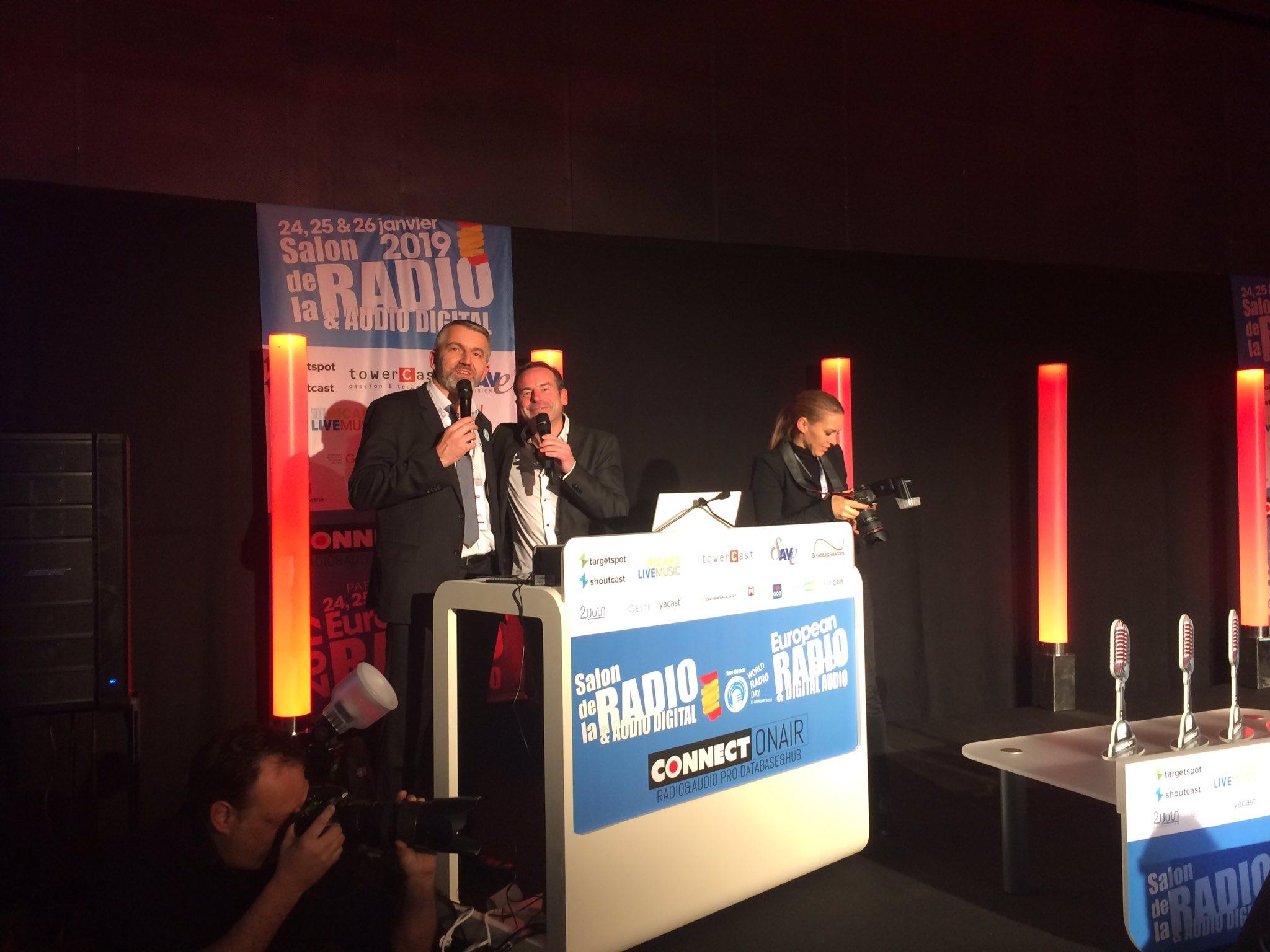 #SalonRadio : coup d'envoi de la cérémonie des Jeunes Talents 2019.