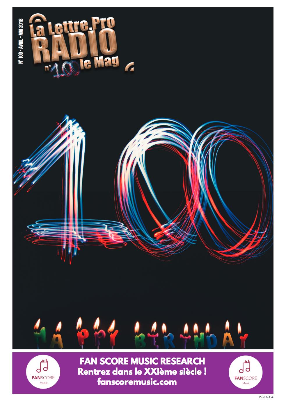 Mon édito du n° 100