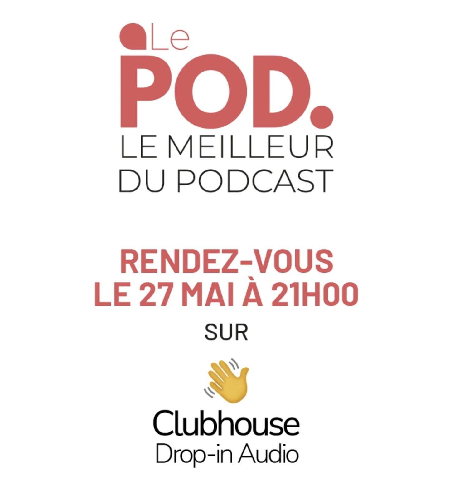 "La ""grosse Room"" ce jeudi soir à 21h sur ClubHouse"