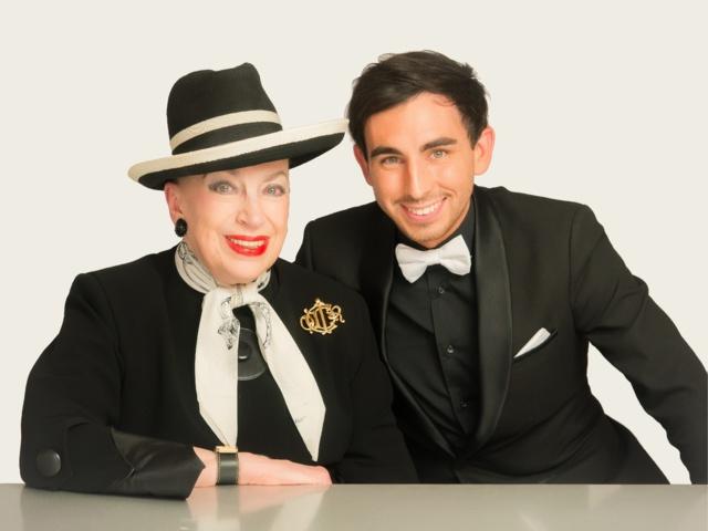 Geneviève de Fontanay et Jordan de Luxe réunis par CM-Broadcast