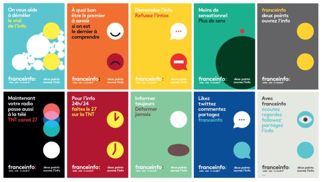 Depuis ce mardi 30 août, le public peut découvrir les affiches à Paris (métro, aéroports et taxis) et dans toutes les villes de plus de 500 000 habitants et les grandes gares (L'habillage de l'offre globale et la campagne publicitaire ont été conçus par l'agence Movement)