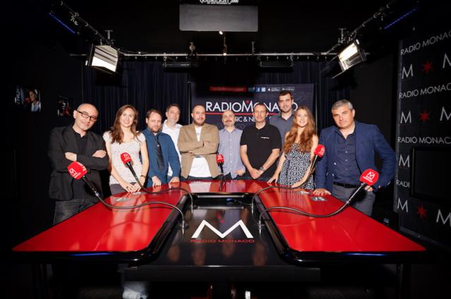 L'équipe de Radio Monaco
