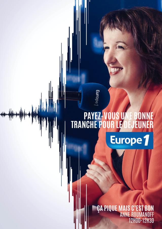 Europe 1 : nouvelle campagne et nouveau claim