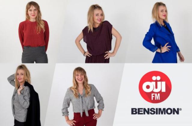 C'est la Maison Bensimon qui a accueilli les animateurs pour la séance photo de rentrée de Oüi FM et qui a relooké, pour l'occasion, les animatrices de la station