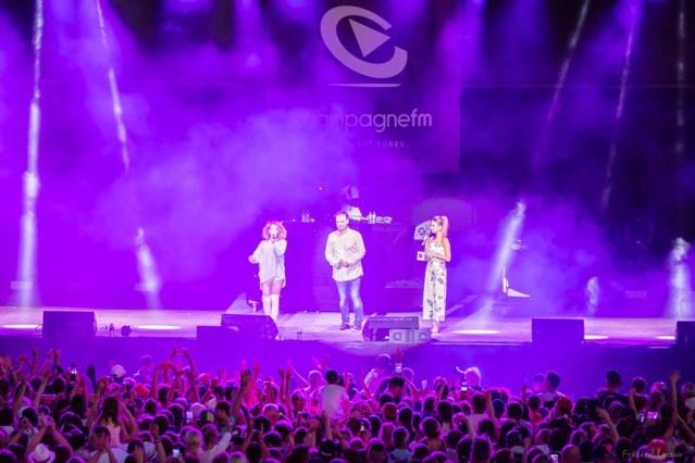 Le dernier concert en date organisé par Champagne FM - Crédit Photo : Champagne FM
