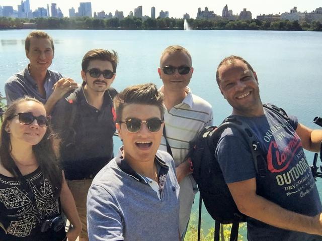L'équipe d'Activ Radio est bien arrivée à New York