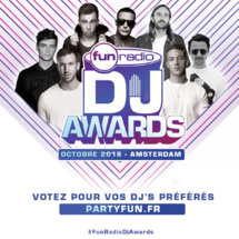 Fun Radio organise les Fun Radio DJ Awards 2016
