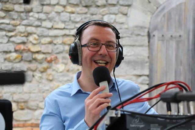 James Jouffroy, directeur de Radio Jeunes Reims. ©RJR