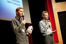 Matt Deegan et James Cridland