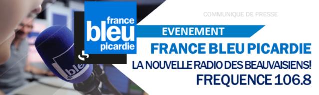 Beauvais : le 106.8 pour France Bleu