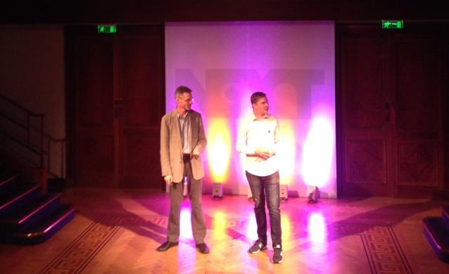 James Cridland et Matt Deegan ouvrent la conférence NextRadio le 19 Septembre 2016 à Londres