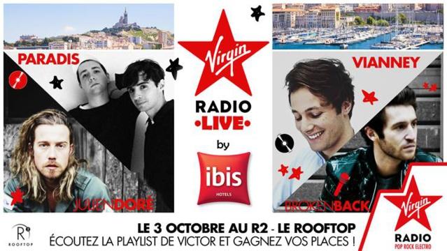 Nombreux événements proposés par Virgin Radio