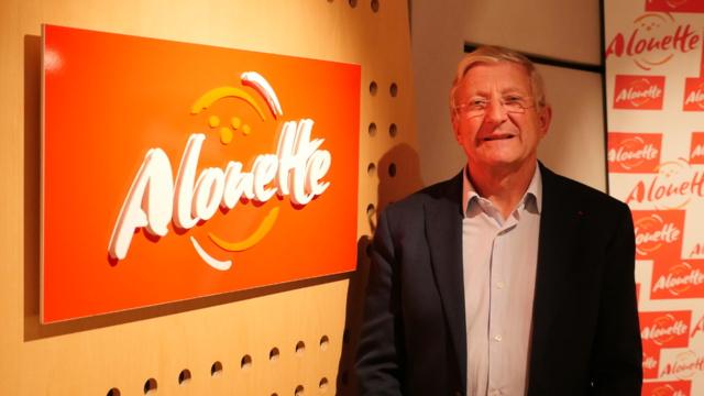 Bertrand de Villiers dirige Alouette, la première radio régionale de France.