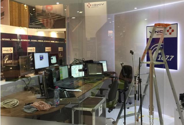 Radio Vinci Autoroutes au Mondial de l'auto