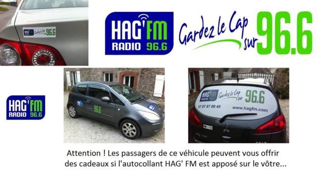 Opération stickers HAG' FM : c'est parti !