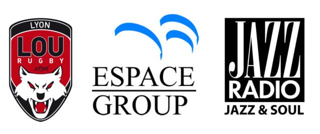 Espace Group partenaire média du Lou Rugby