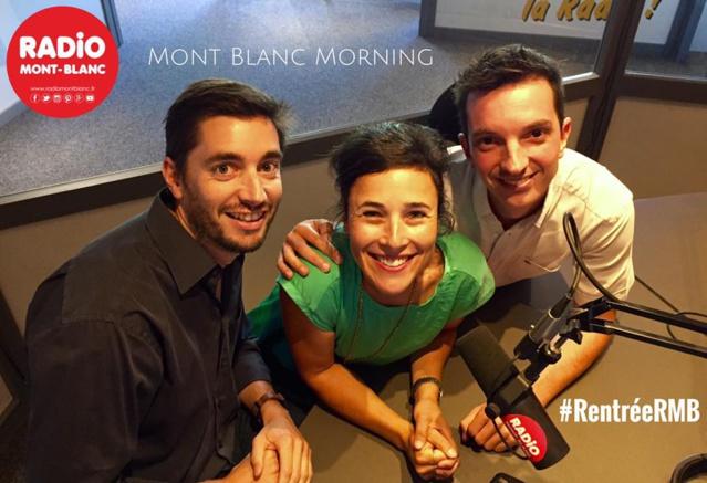 Le morning animé par Romain Bruneau, Jessica Levy et Sébastien Voinot