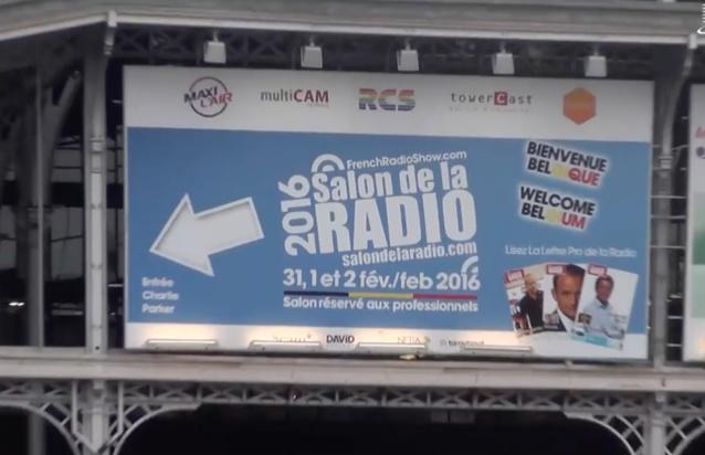 Un site en anglais pour le Salon de la Radio 2017