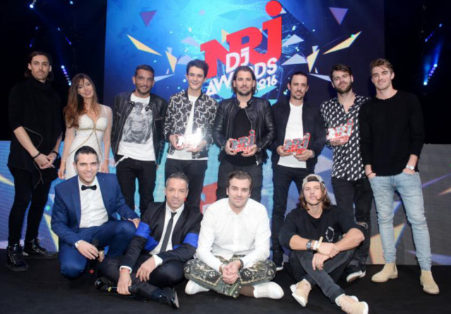 Un NRJ DJ Award d'honneur a aussi été remis à Dimitri Vegas et Like Mike pour l'ensemble de leur carrière