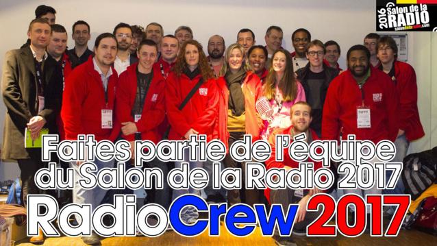 Salon de la Radio 2017 : intégrez la Radio Crew