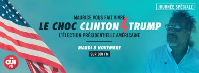 L'animateur Maurice de retour sur Oui FM