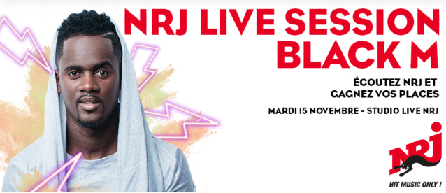 NRJ Live Session avec NRJ Belgique