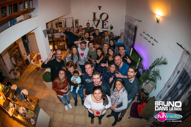 "Fun Radio : ""Bruno Dans Ton Salon"" à Aix-en-Provence"