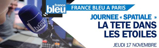 Journée spéciale sur France Bleu à Paris