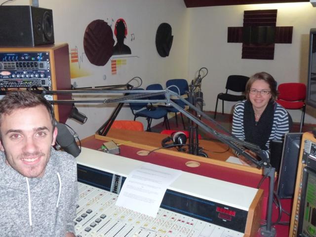 Coraline et Théo animant l'après-midi sur Sudfo la web. © BV.
