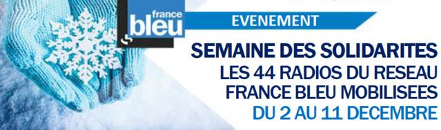 Semaine des solidarités sur France Bleu