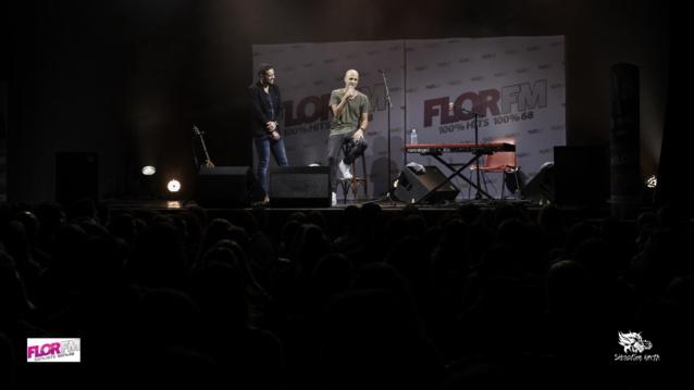 Milow était la semaine dernière en showcase exclusif à Mulhouse pour Flor FM.