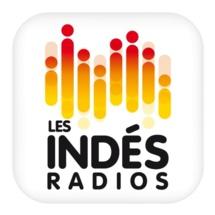 Progression de l'audience mobile pour Les Indés Radios