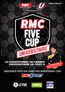 """Deuxième édition de la """"RMC Five Cup Universitaire"""""""