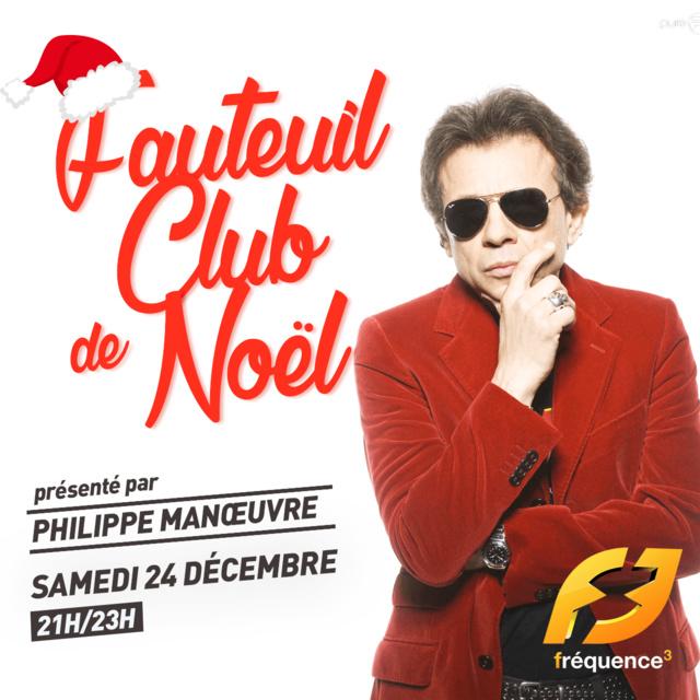 Philippe Manœuvre animera le réveillon de Noël de Fréquence 3