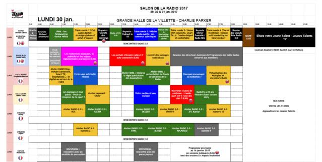 Salon de la Radio 2017 : le programme provisoire téléchargeable