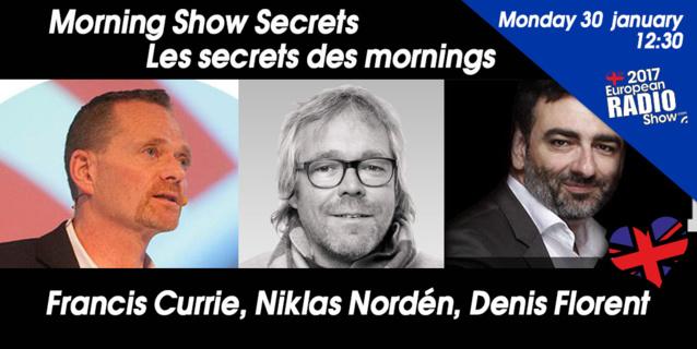 Les Secrets des Mornings révélés au Salon de la Radio