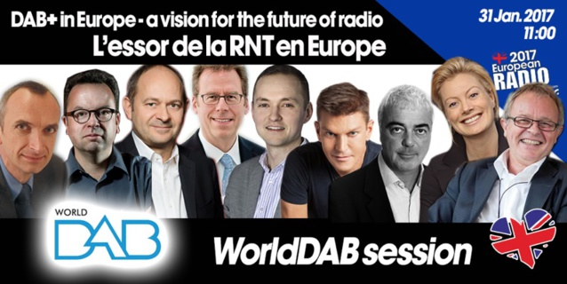 Le WorldDAB au Salon de la Radio