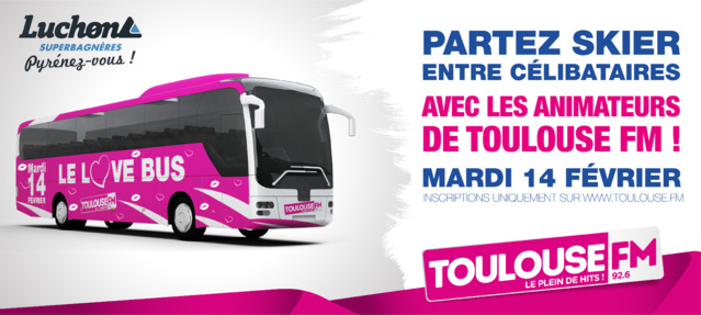 Toulouse FM propose à ses auditeurs de monter dans Le Love Bus