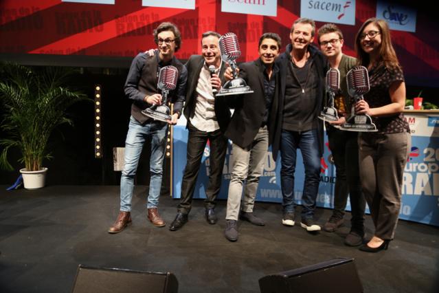 Comme chaque année, Rémi Castillo a orchestré la cérémonie des Jeunes Talents de la Radio et la TV. Une cérémonie présidée par Jean-Luc Reichmann © Serge Surpin