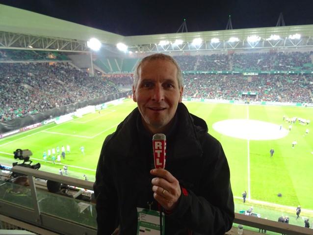 Serge Pueyo au micro de RTL - Crédit Photo : SP