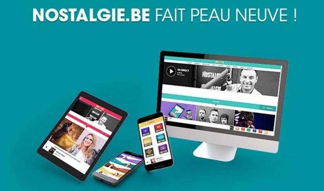 Belgique : le site de Nostalgie fait peau neuve