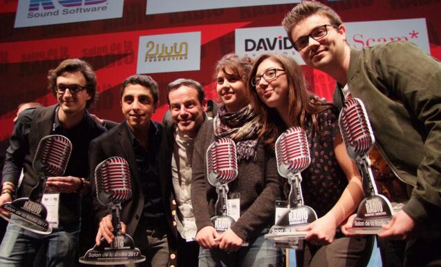 Les trophées des Jeunes Talents de la Radio - Salon de la Radio 2017