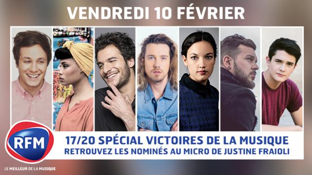 """RFM : une émission spéciale """"Victoires de la Musique"""""""