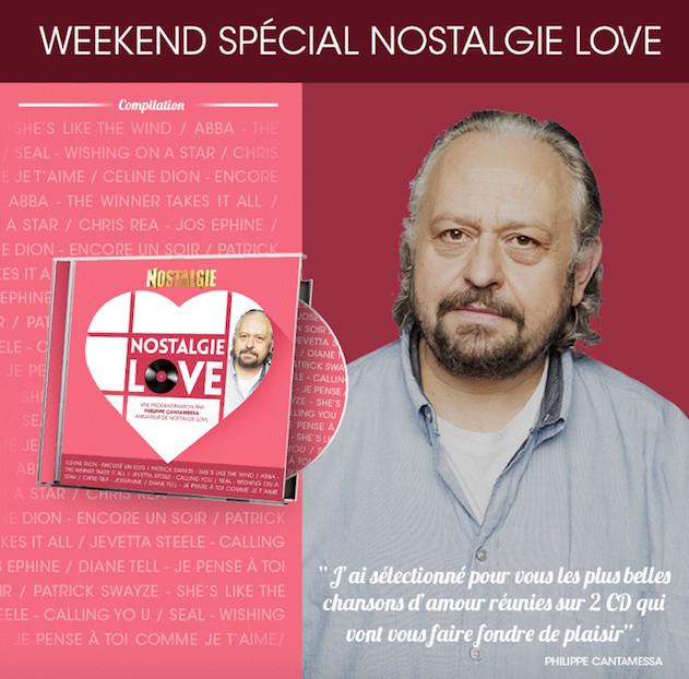 Nostalgie Belgique célèbre l'amour
