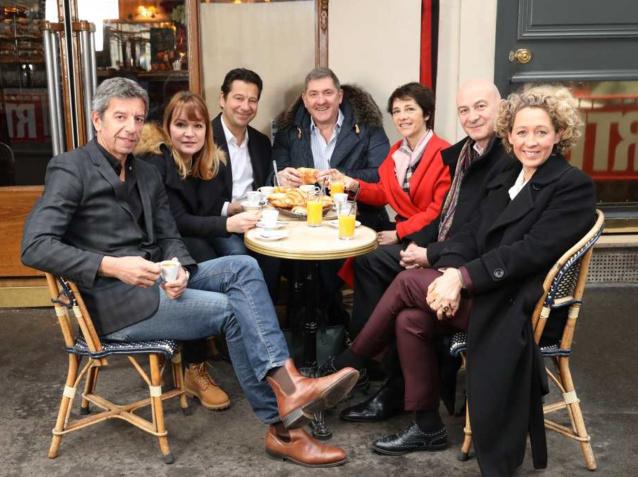 L'équipe de RTL Matin ©Laurent VU / SIPA Press pour RTL
