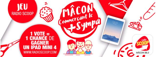 """Concours du """"Commerçant le plus sympa"""" avec Radio Scoop"""