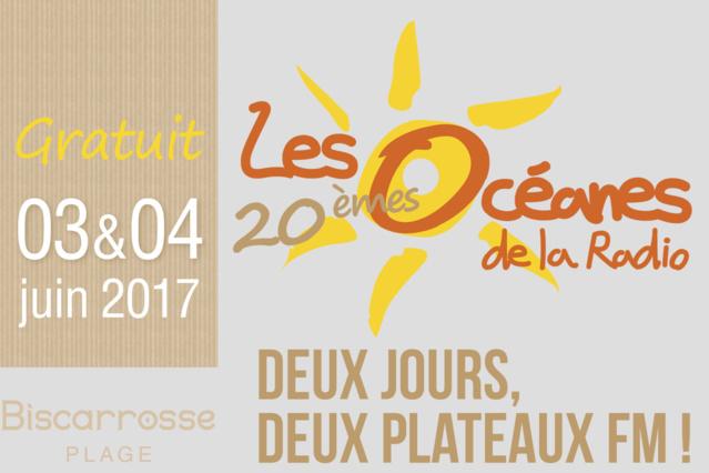 """Retour des """"Océanes de la Radio"""" les 3 et 4 juin"""