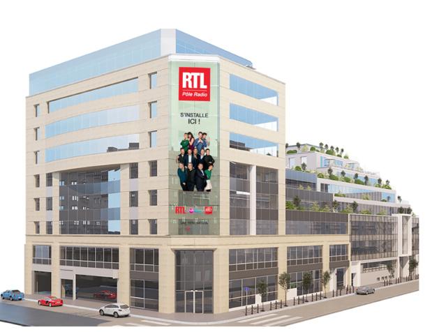Première étape de l'emménagement du pôle RTL